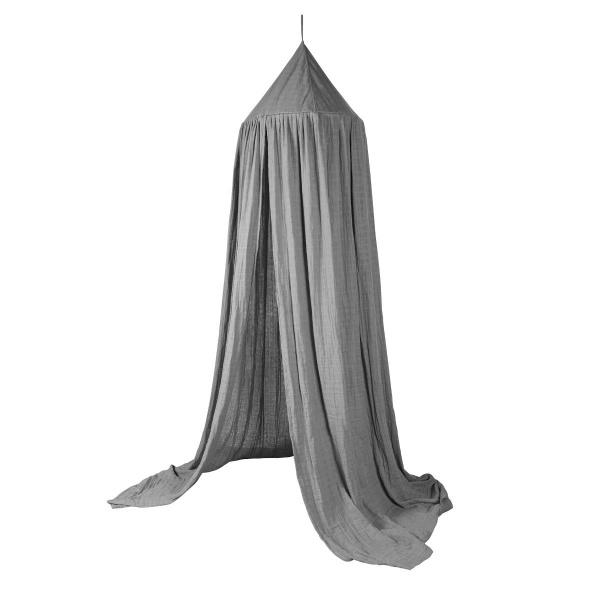 Sebra sengehimmel, grå