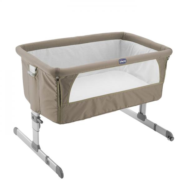 chicco seng Chicco Next2Me seng/bedside crib, Dove Grey   Babybanden chicco seng