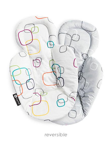 4moms, Newborn insert vendbar, White/Grey