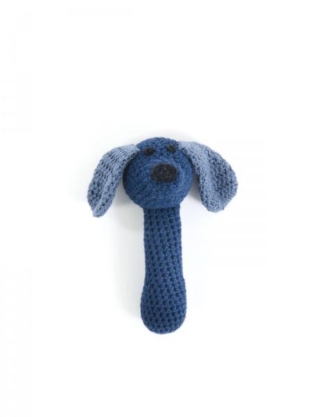 Smallstuff, rangle, blå hund