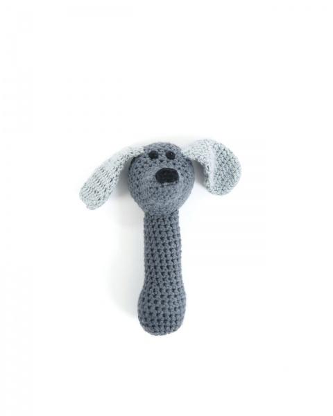 Smallstuff, rangle, grå hund