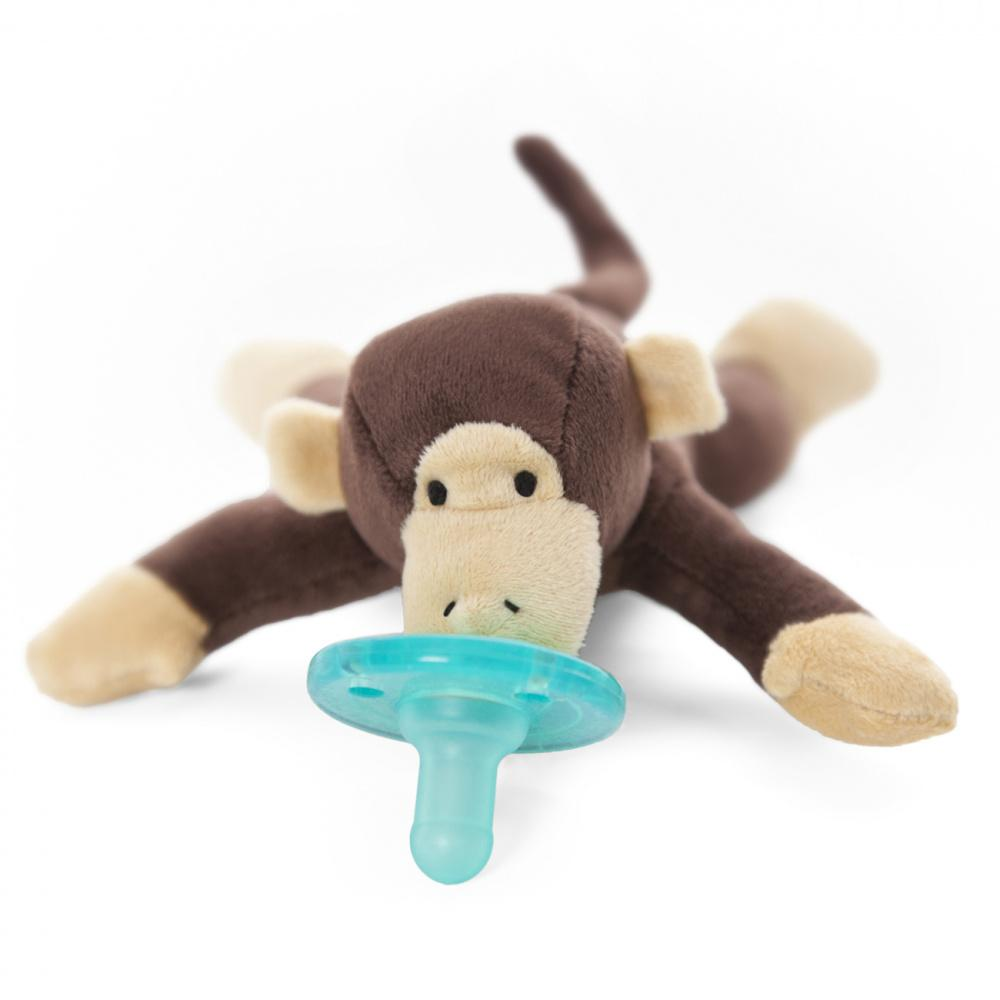 WubbaNub, smokk med kosedyr, ape