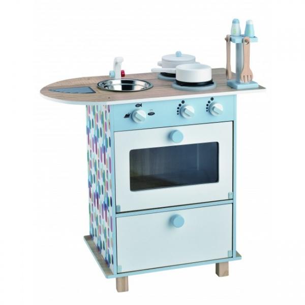 Magni, lekekjøkken med vask og tilbehør