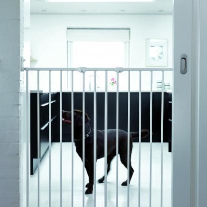 BabyDan, Pet Gate Streamline, hvit