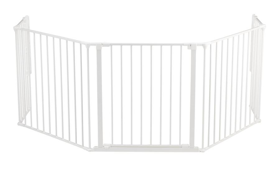 BabyDan Peisgitter Flex XL, hvit