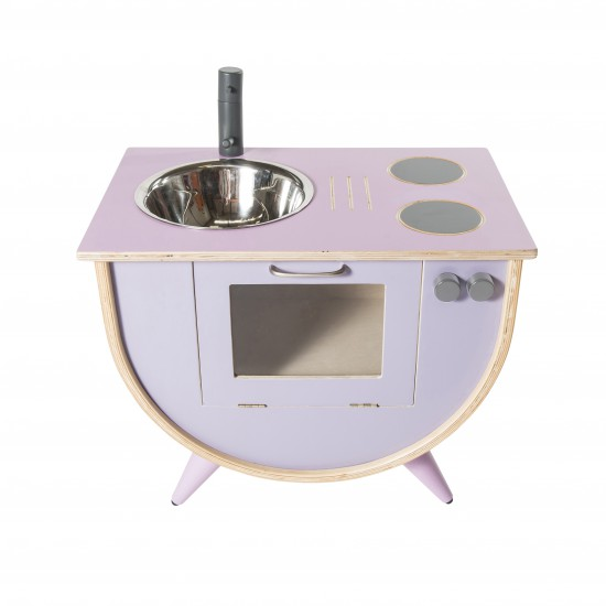 Sebra Lekekjøkken, rosa/lilla